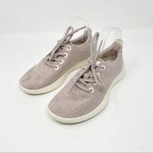 Allbirds dusty pink lace up shoes 7 US